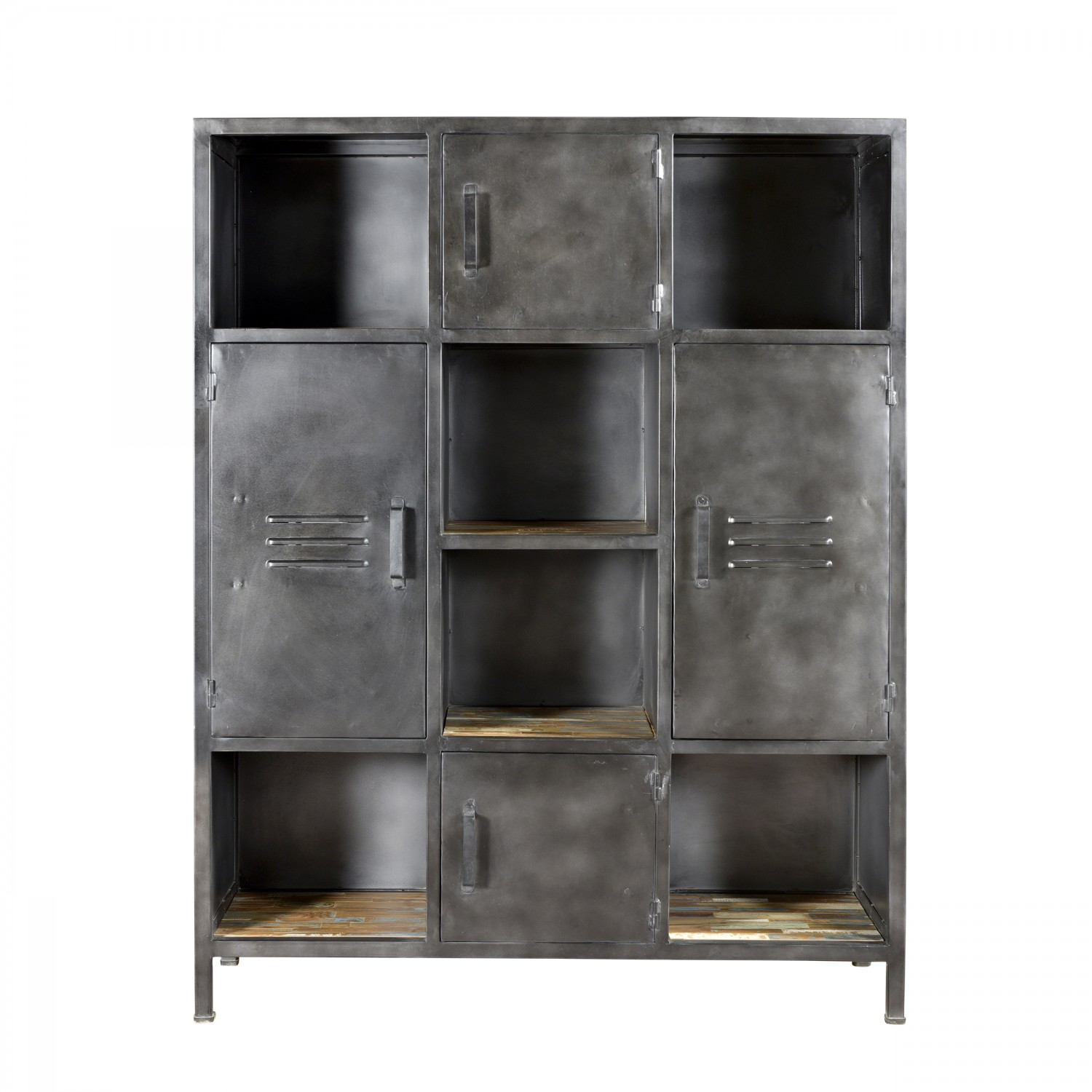 meuble rangement metal armoire de rangement mtal portes. Black Bedroom Furniture Sets. Home Design Ideas