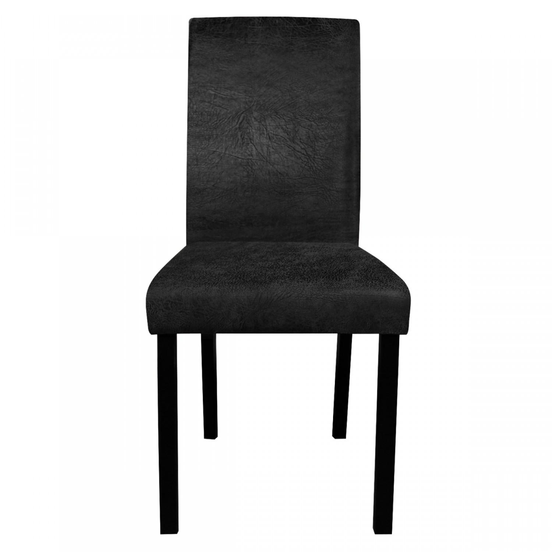 chaise de salon noire lot de 2 koya design. Black Bedroom Furniture Sets. Home Design Ideas
