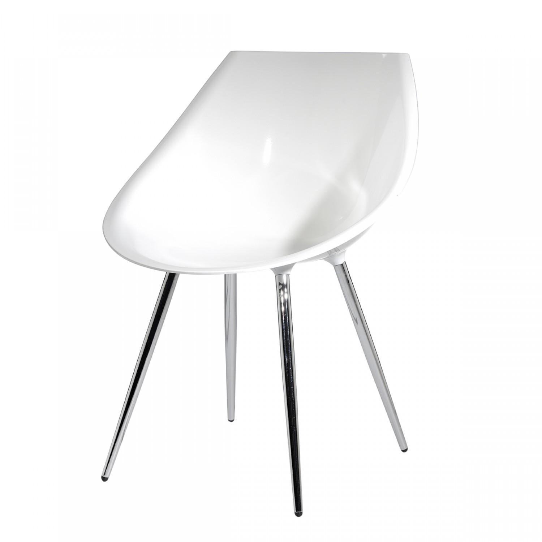 Chaise Rétro blanche (lot de 2) - Koya design