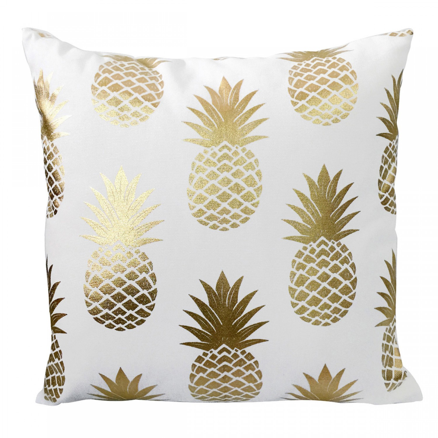 coussin d coratif ananas dor s koya design. Black Bedroom Furniture Sets. Home Design Ideas
