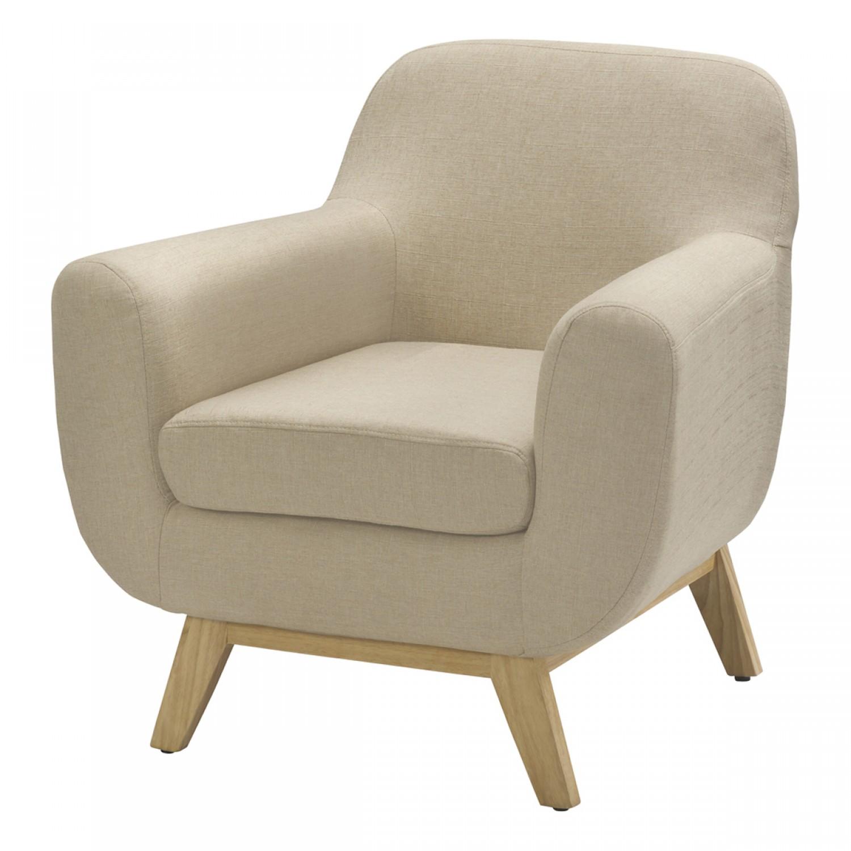 fauteuil oslo beige koya design. Black Bedroom Furniture Sets. Home Design Ideas