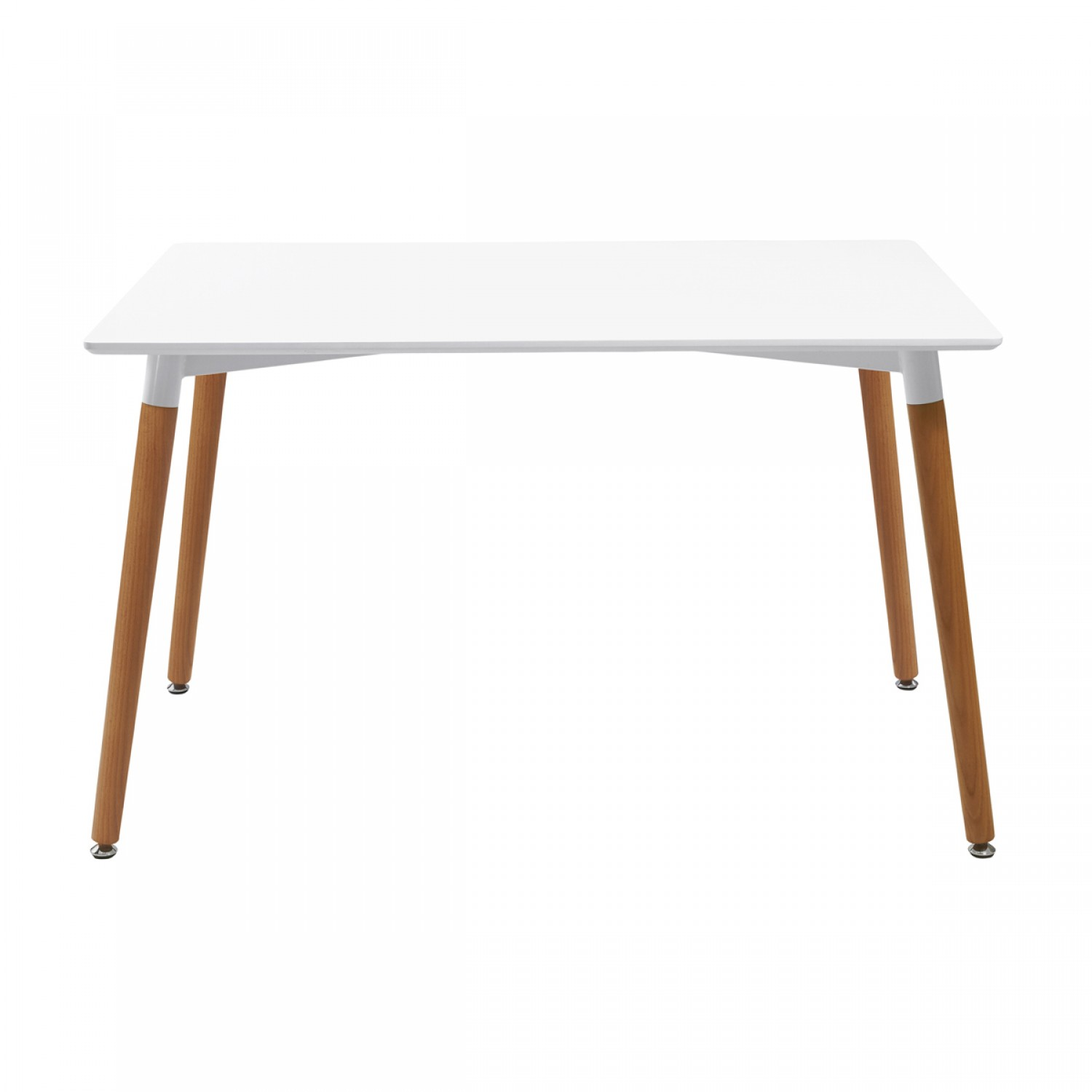 Table scandinave 120 cm koya design for Table salle a manger 120 cm