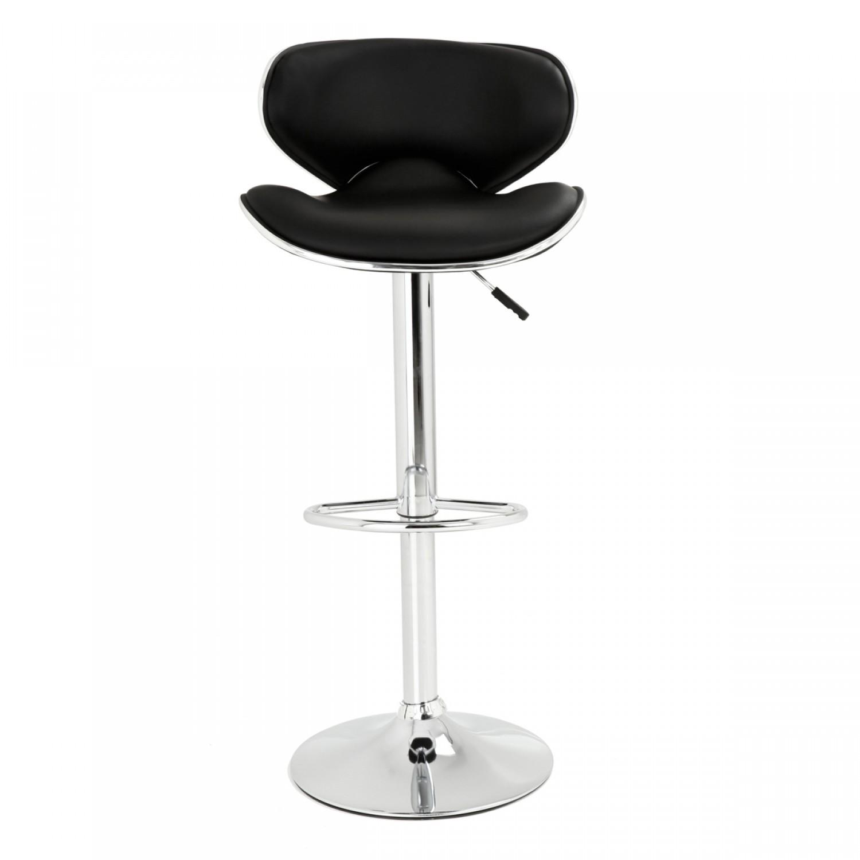 tabouret de bar pop noir lot de 2 koya design. Black Bedroom Furniture Sets. Home Design Ideas