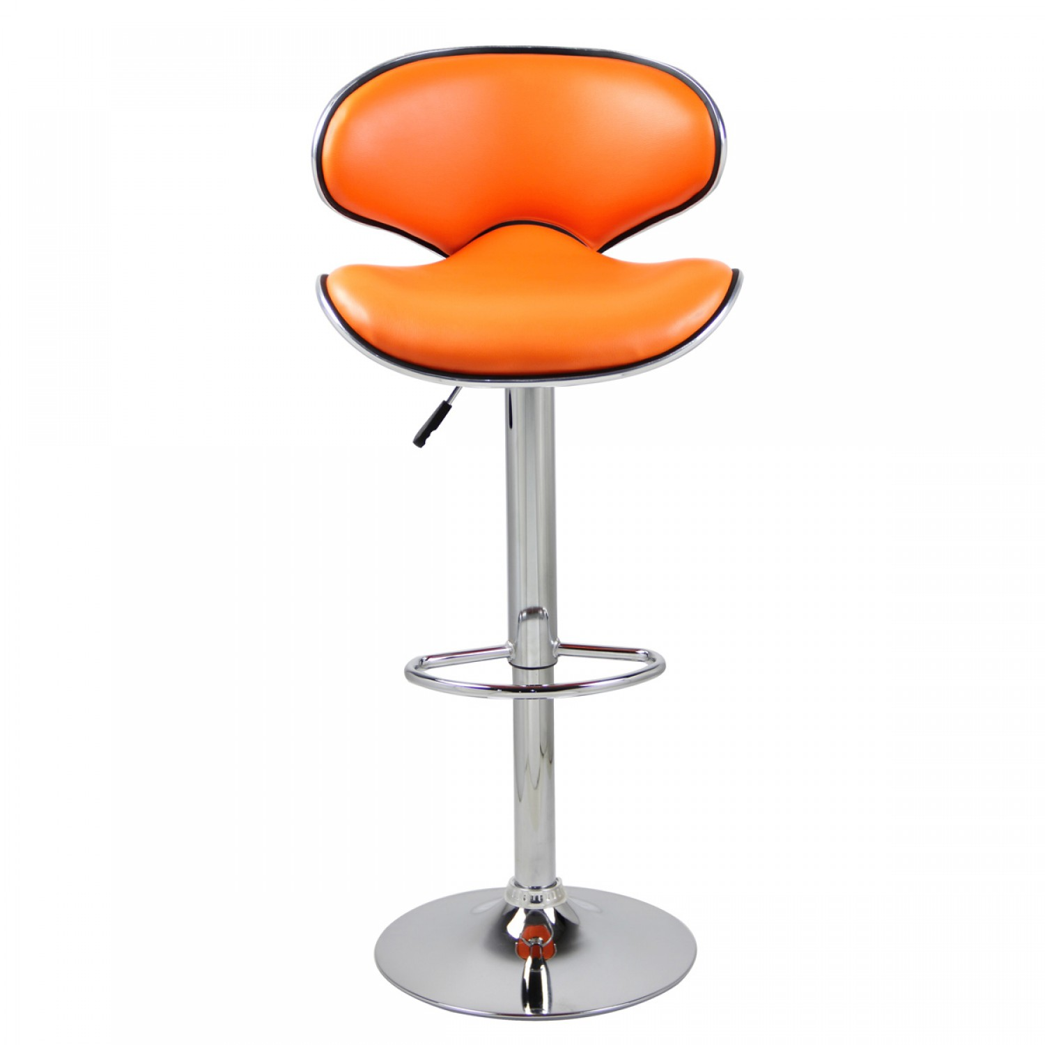 tabouret de bar pop orange lot de 2 koya design. Black Bedroom Furniture Sets. Home Design Ideas
