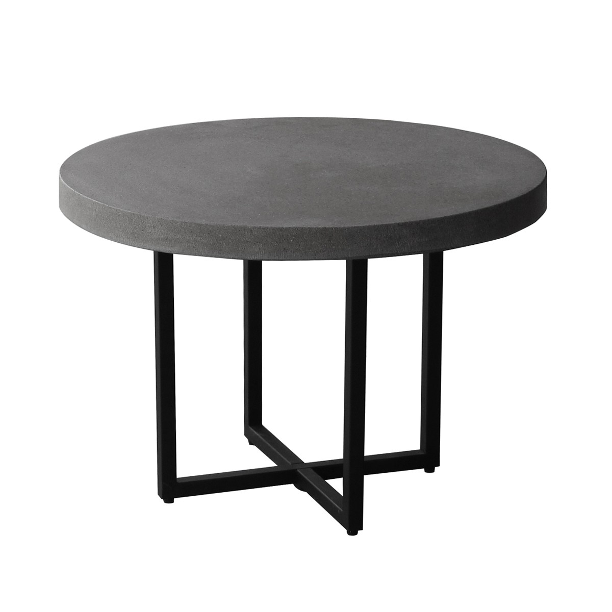 Table basse ronde salon but for Table design ronde