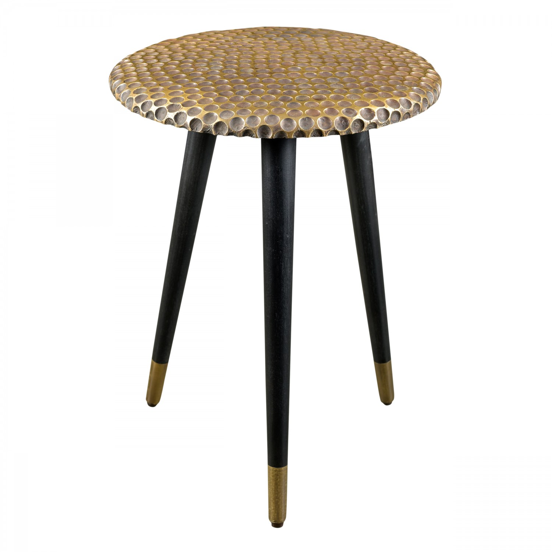 table d 39 appoint ronde exotic dor e koya design. Black Bedroom Furniture Sets. Home Design Ideas