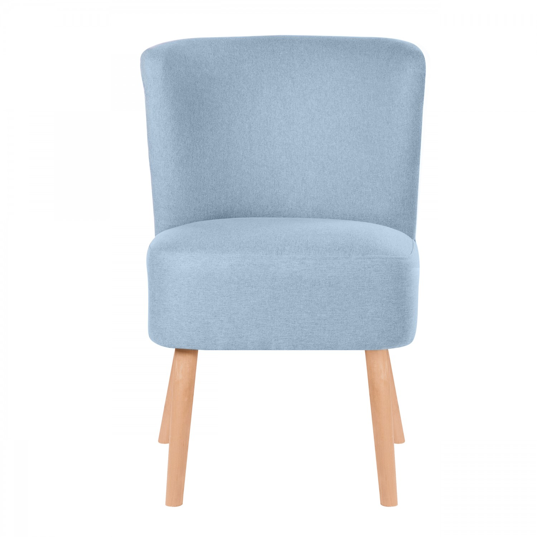 fauteuil curve bleu clair koya design. Black Bedroom Furniture Sets. Home Design Ideas
