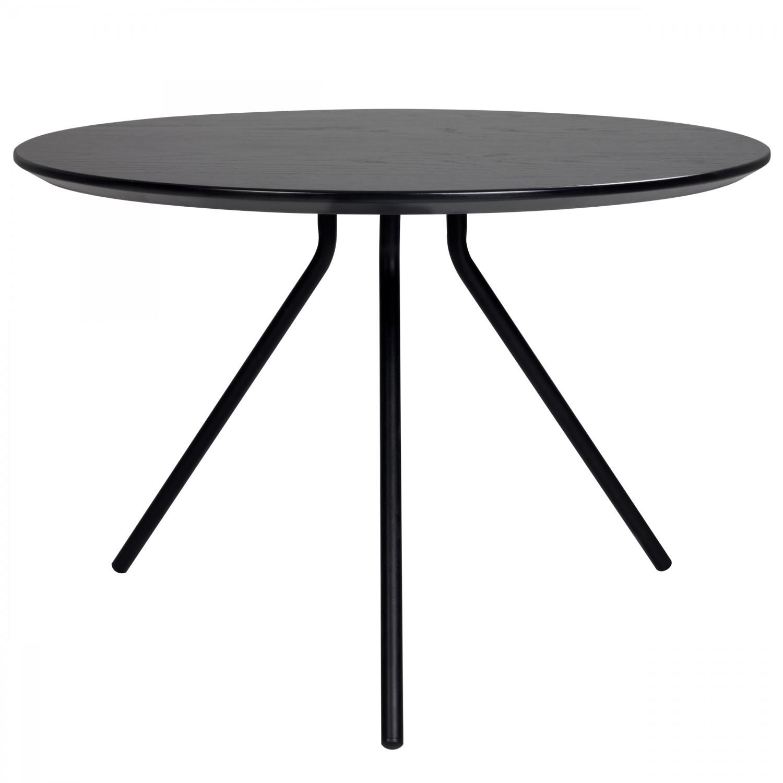 Table basse Aleph ronde Ø60 cm noire