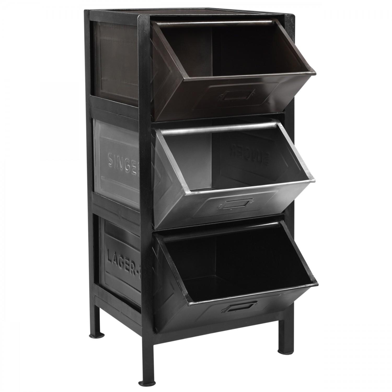 Commode loft Adach 3 casiers