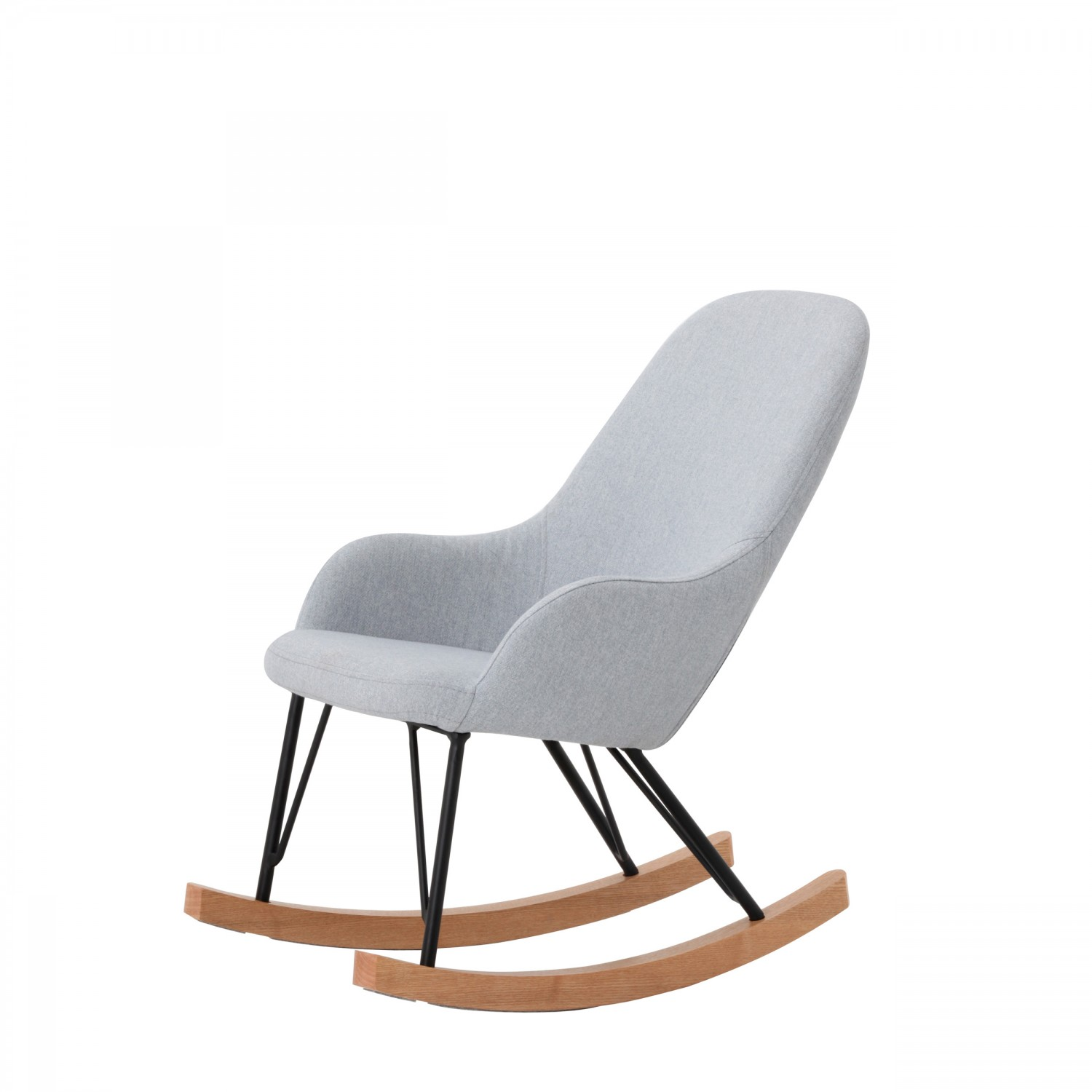 rocking chair enfant bleu clair koya design. Black Bedroom Furniture Sets. Home Design Ideas