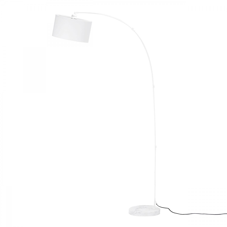 Lampadaire Arc blanc H.185 cm
