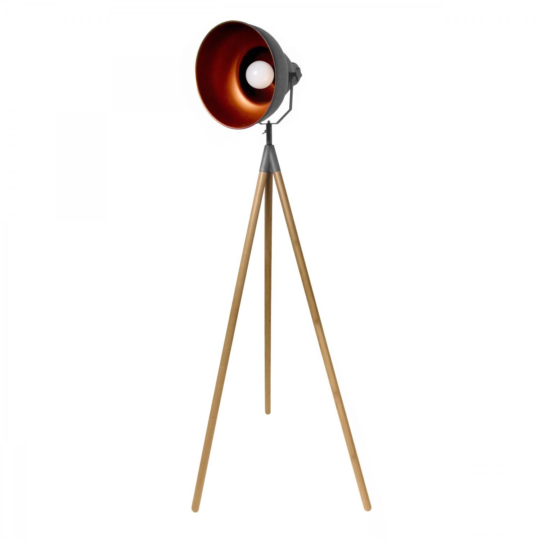 Lampe à poser trépied Loft