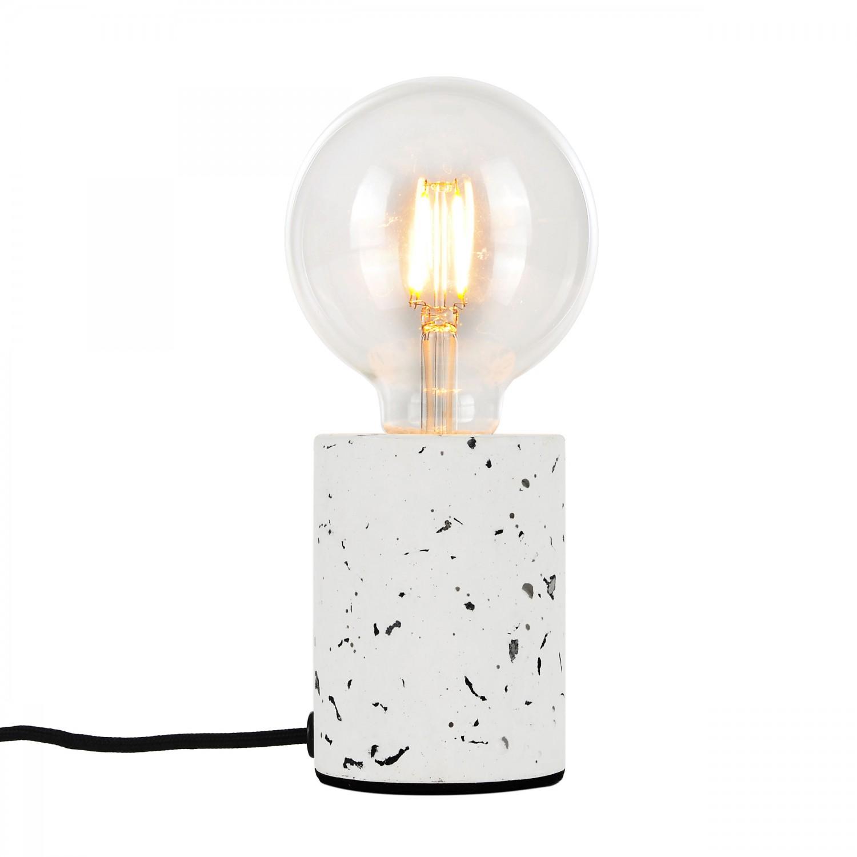 Lampe à poser Bellini terrazzo blanc (ampoule incluse)
