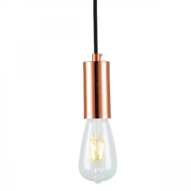 Suspension Aeneas cuivre (ampoule incluse)