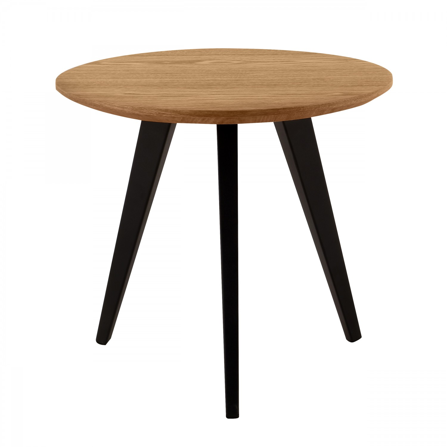 table basse ronde 50 cm bois clair koya design. Black Bedroom Furniture Sets. Home Design Ideas