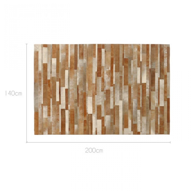 tapis peau de vache beige 200x300cm d coration koya design. Black Bedroom Furniture Sets. Home Design Ideas