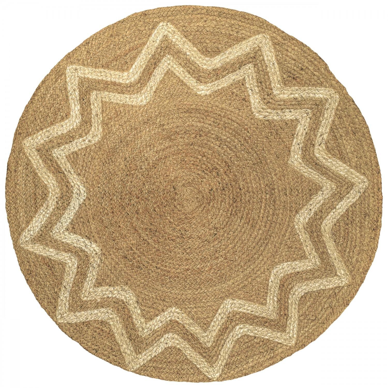 acheter tapis rond ethnique_