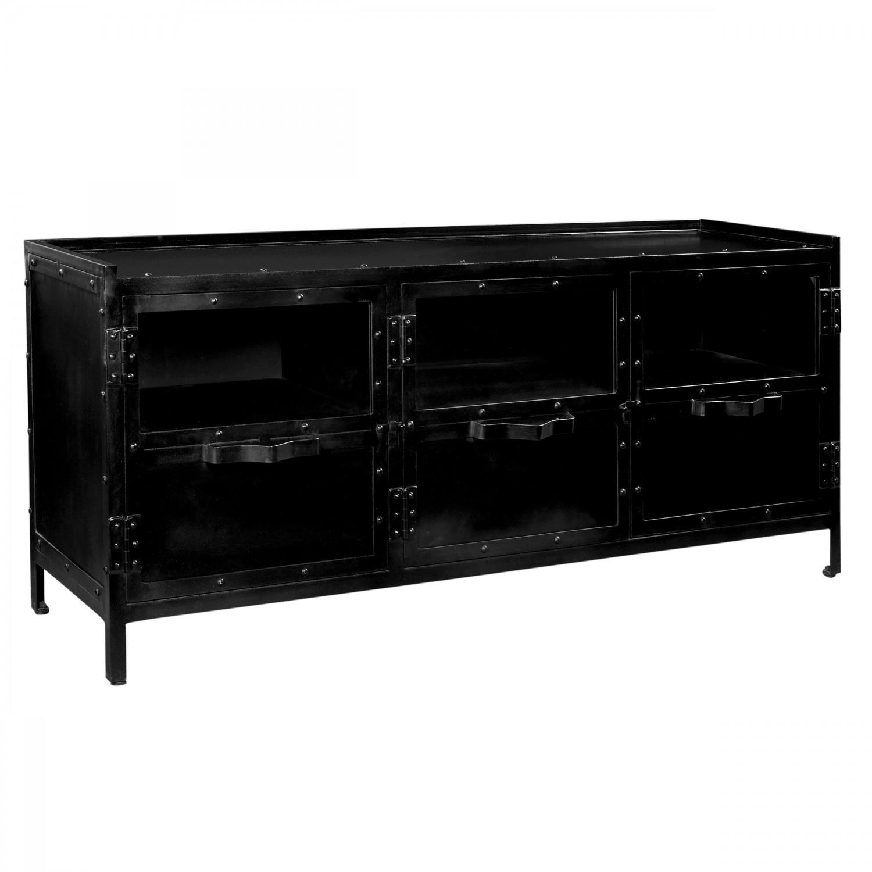 meuble tv vassal 3 portes koya design. Black Bedroom Furniture Sets. Home Design Ideas