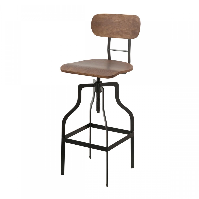 Chaise de bar Vintage bois