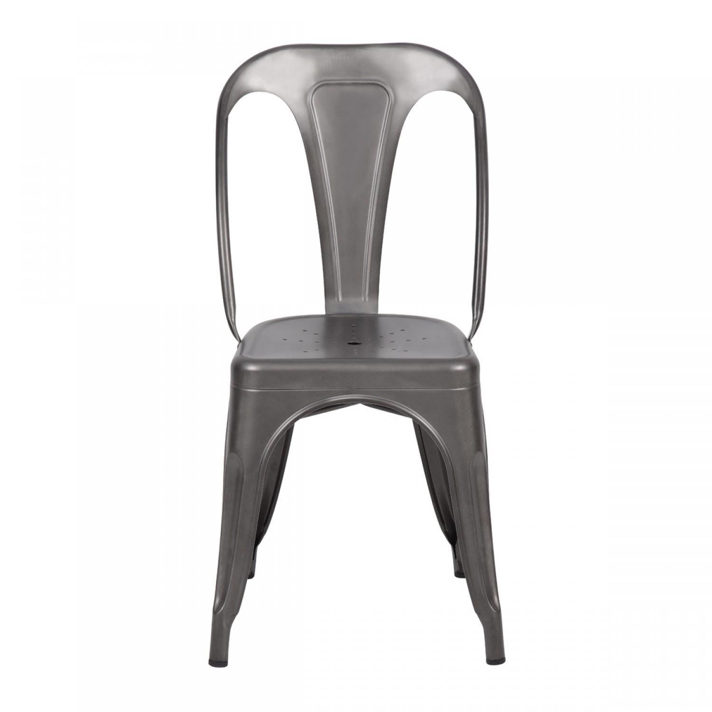 chaise en acier elegant chaise acier industriel charme ractro pour cette chaise en acier x x cm. Black Bedroom Furniture Sets. Home Design Ideas