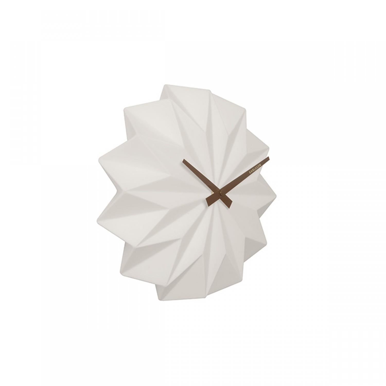 Horloge blanche camille koya design for Horloge blanche design