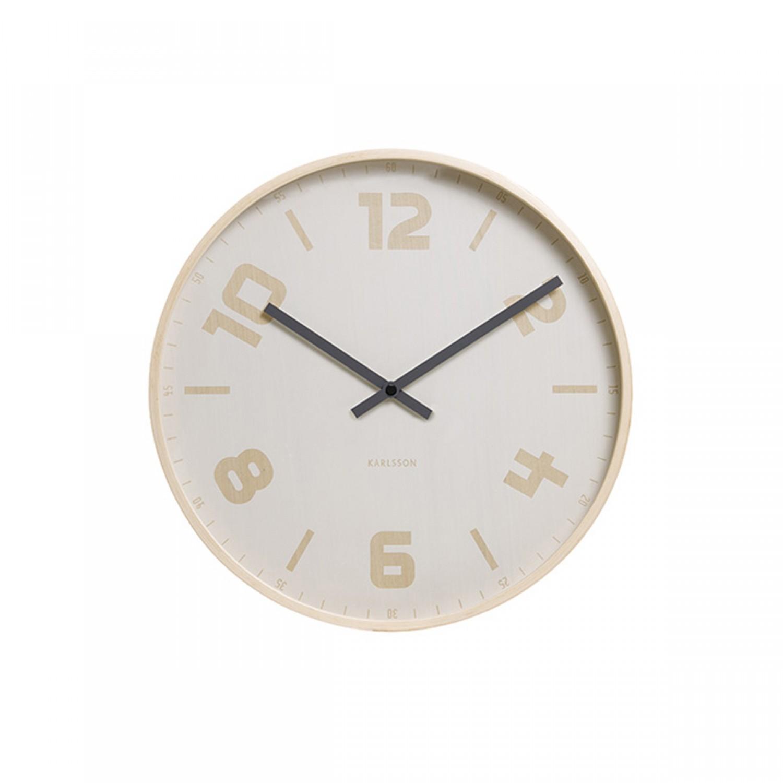 Horloge blanche et dor e jules koya design for Horloge blanche design