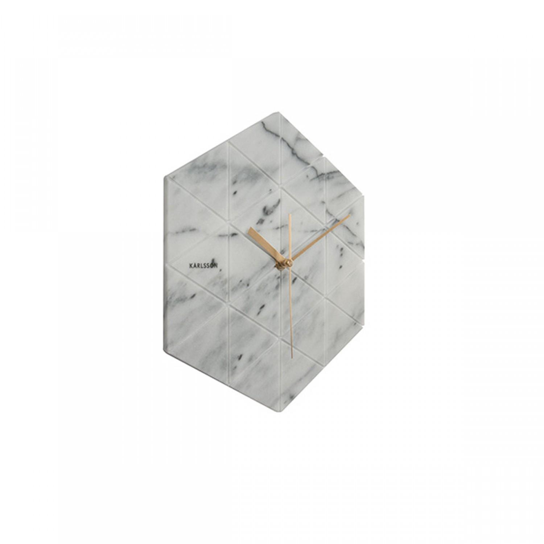 Horloge blanche oscar koya design for Horloge blanche design