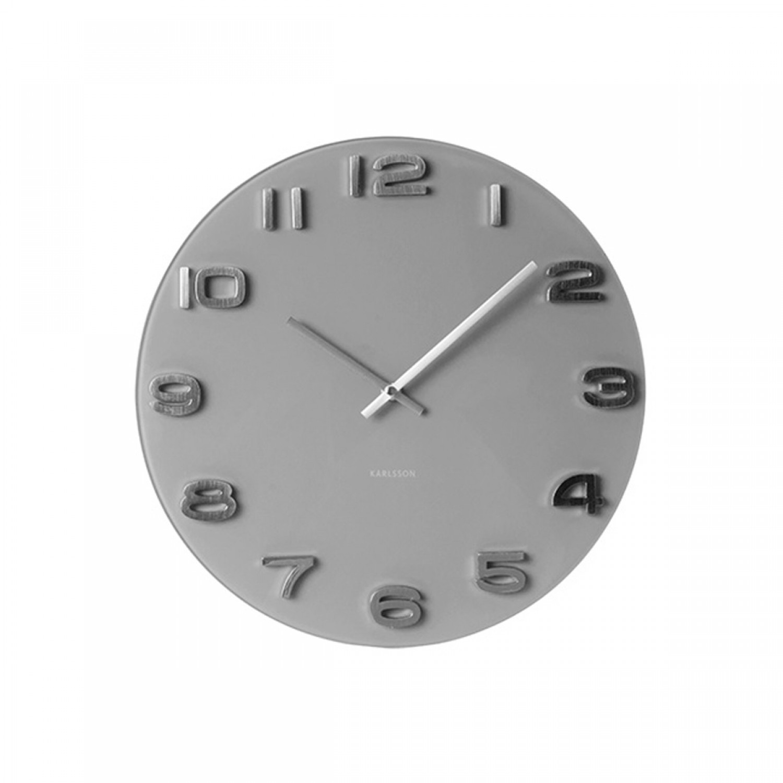 Horloge grise marius koya design for Horloge grise