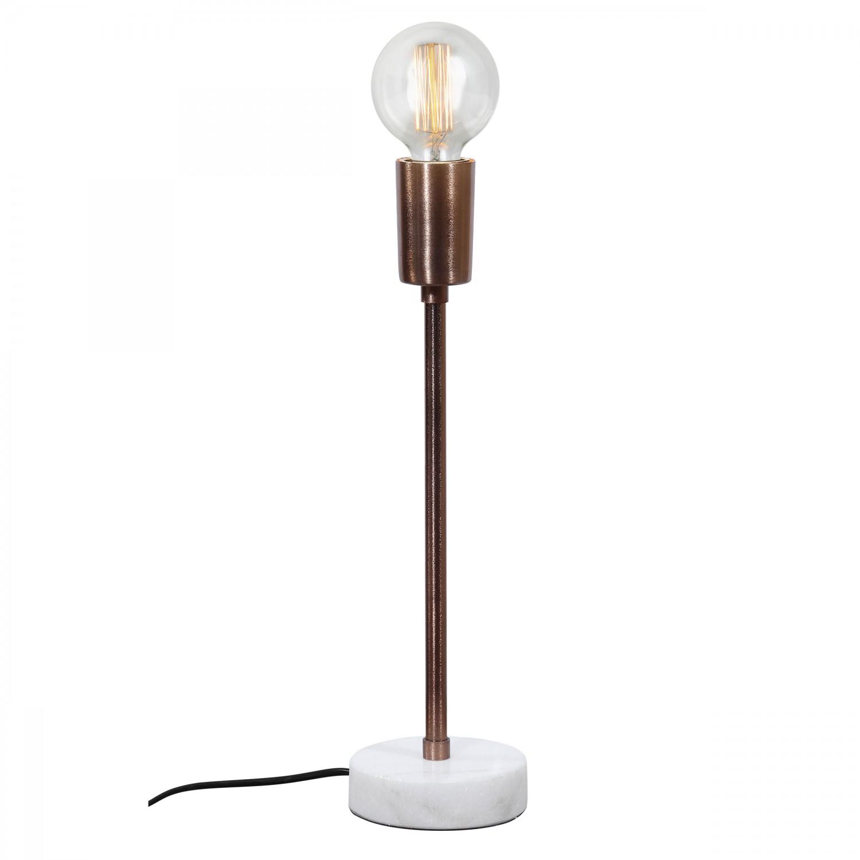 Lampe de bureau Kierra L cuivre