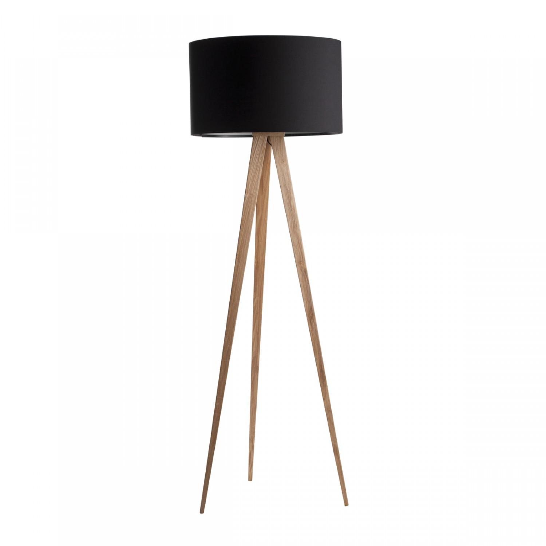 lampadaire tr pied bois noir k lla koya design. Black Bedroom Furniture Sets. Home Design Ideas