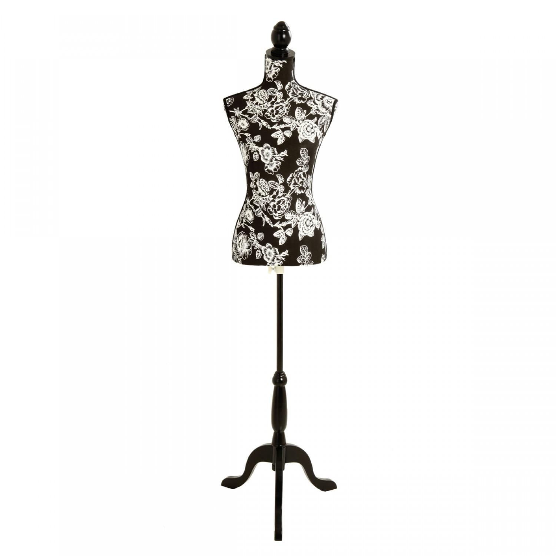 mannequin couture roses noires koya design. Black Bedroom Furniture Sets. Home Design Ideas