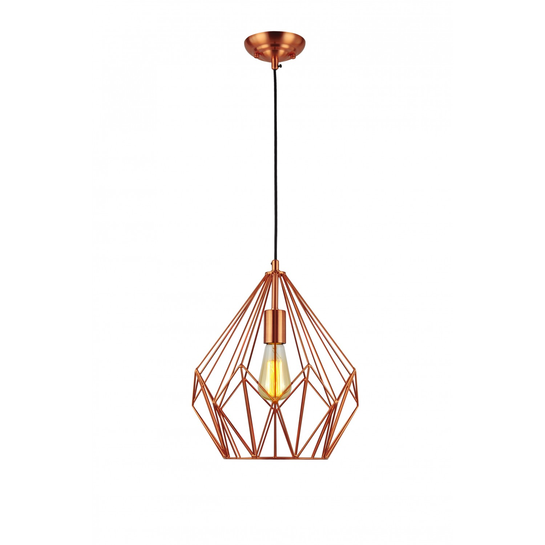 suspension g om trique cuivre koya design. Black Bedroom Furniture Sets. Home Design Ideas