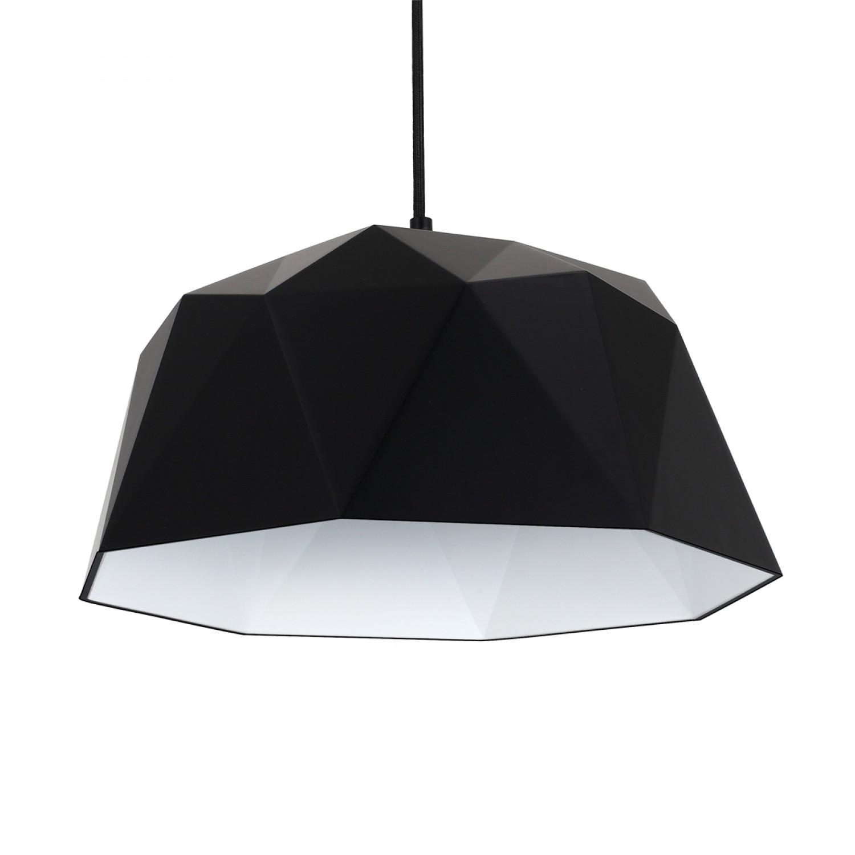 suspension origami noire koya design. Black Bedroom Furniture Sets. Home Design Ideas
