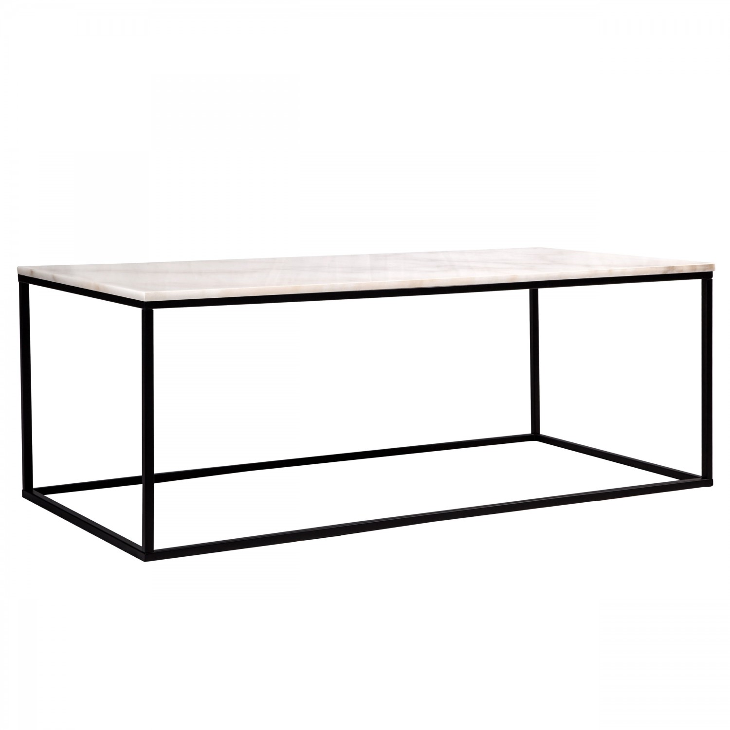 table basse rectangulaire lennart marbre blanche koya design. Black Bedroom Furniture Sets. Home Design Ideas