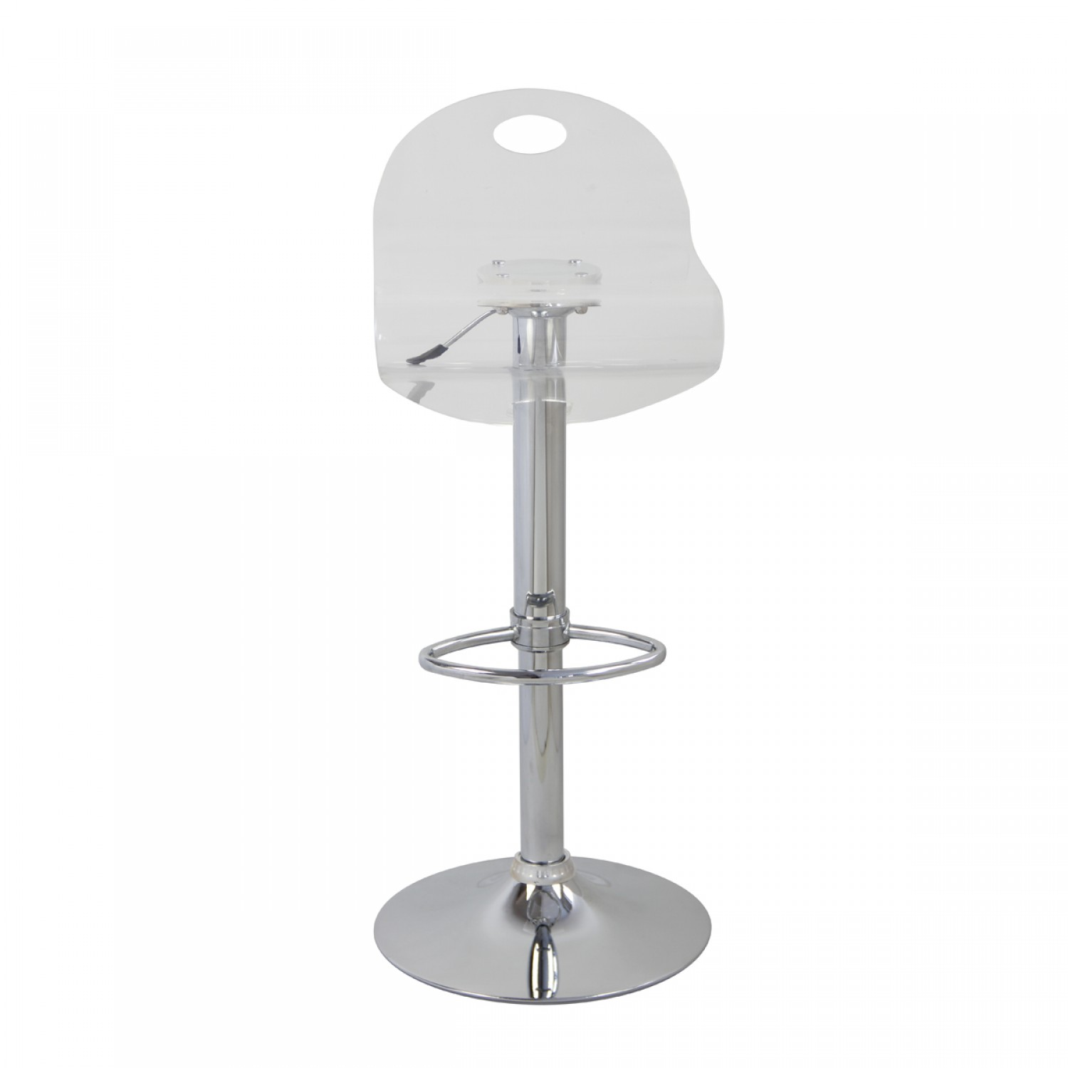 Tabouret De Bar Curve Transparent Lot De 2 Koya Design