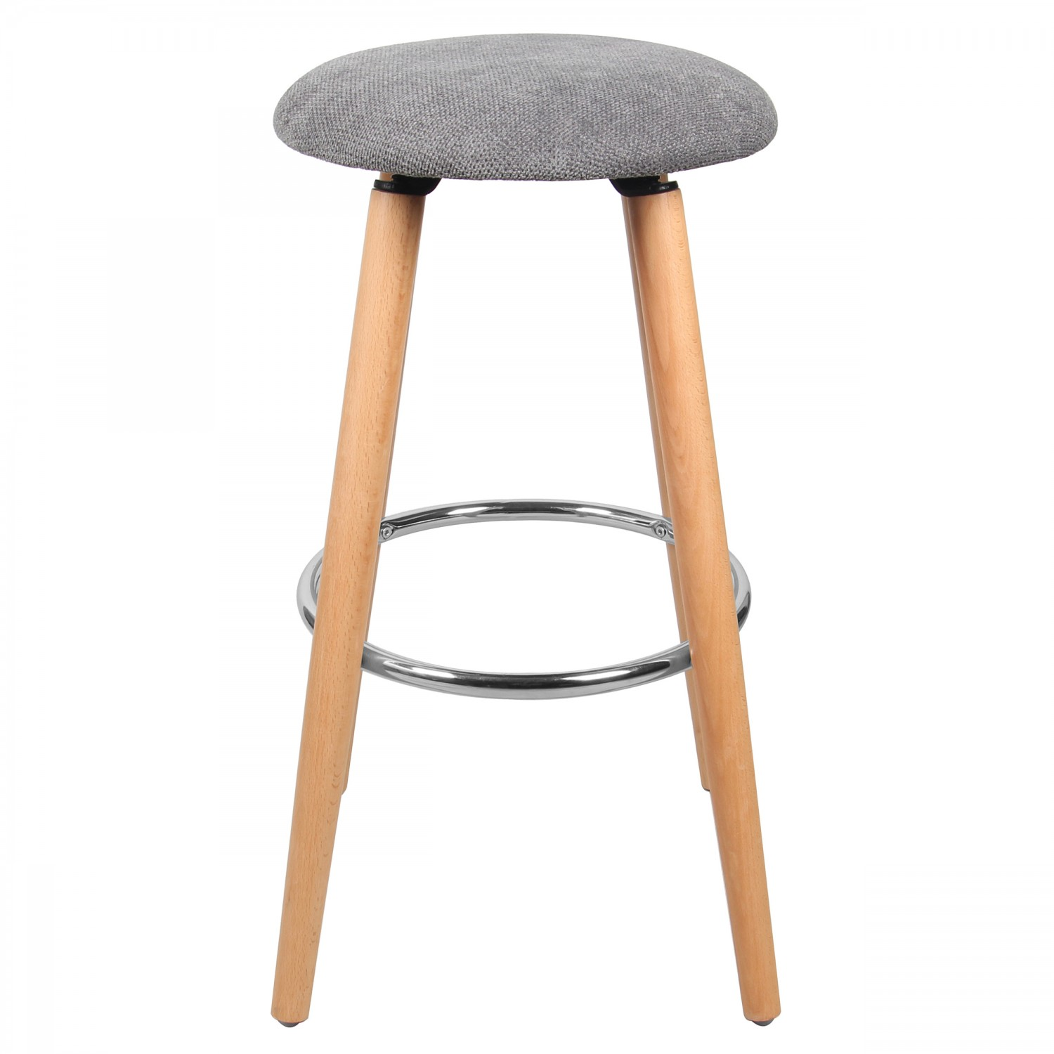 tabouret de bar drammen gris koya design. Black Bedroom Furniture Sets. Home Design Ideas