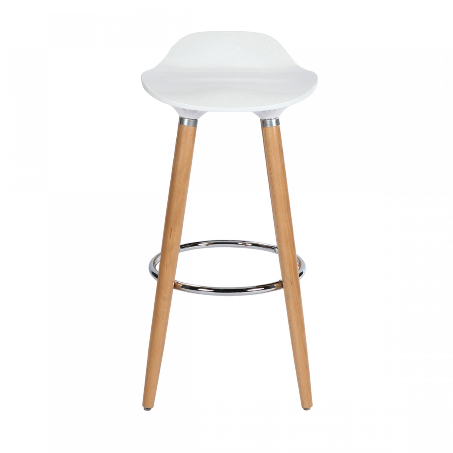 tabouret de bar milano blanc koya design. Black Bedroom Furniture Sets. Home Design Ideas