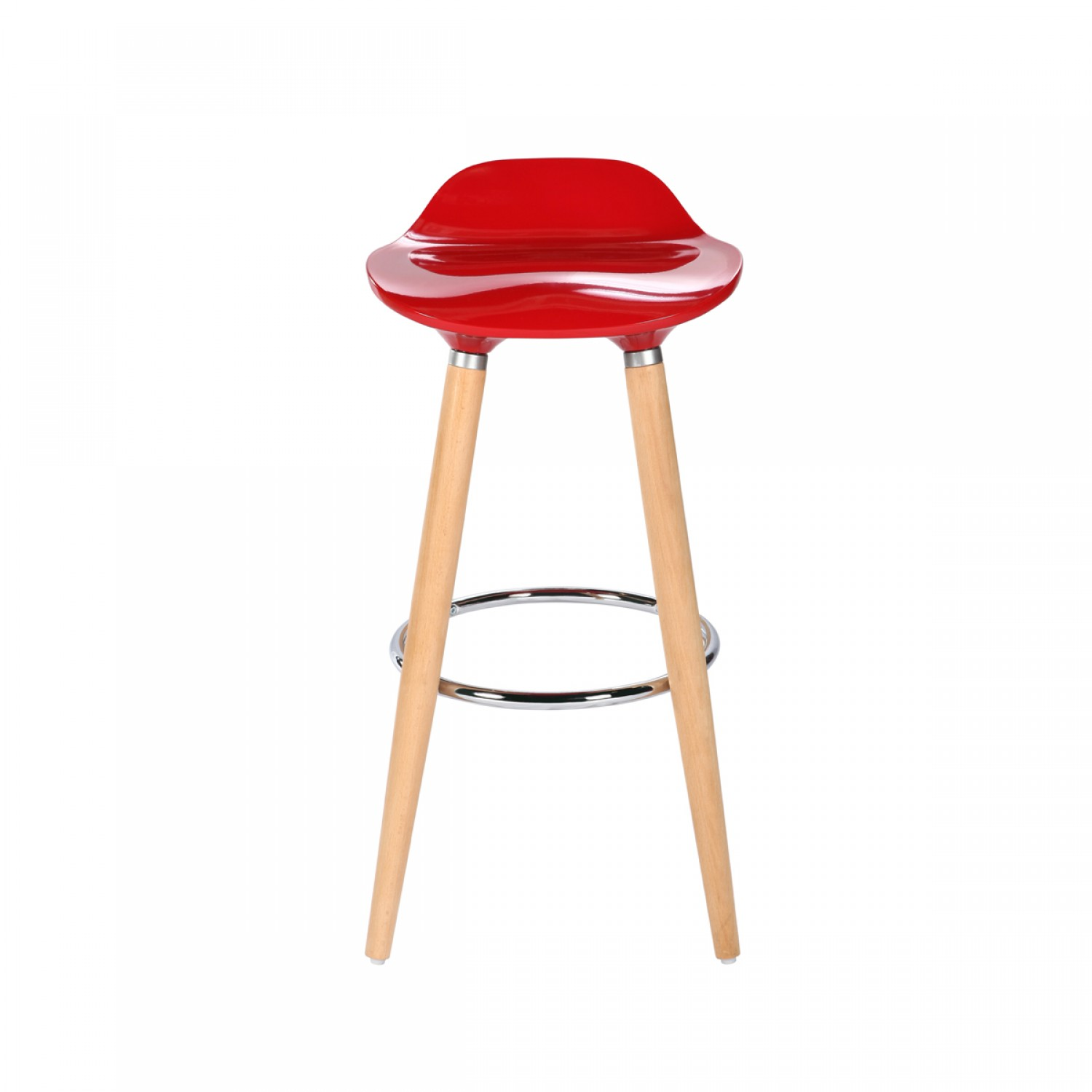 tabouret de bar milano rouge koya design. Black Bedroom Furniture Sets. Home Design Ideas