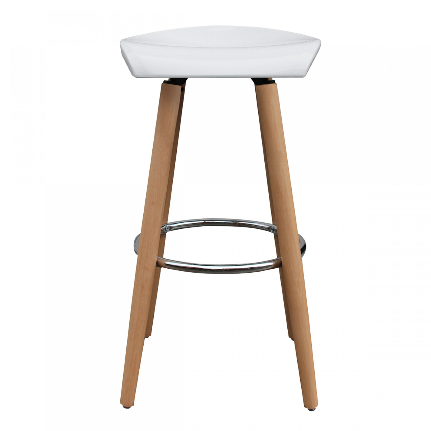 tabouret de bar verona blanc koya design. Black Bedroom Furniture Sets. Home Design Ideas